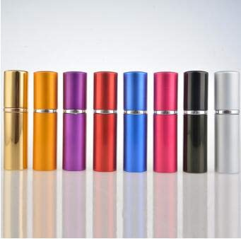 10 Ml Bouteille de Lotion Voyage Portable Rechargeable Parfum Atomiseur Bouteille Vide Parfum Pompe Étui de Pulvérisation Noir