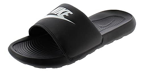 Nike Victori One Slide, Scarpe Uomo, Black/White-Black, 42.5 EU