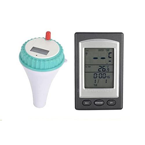 1pc Piscine Thermomètre sans fil à distance Indicateur de température d'eau numérique avec écran LCD pour Piscine Spa Baignoire Aquarium Fish Pond