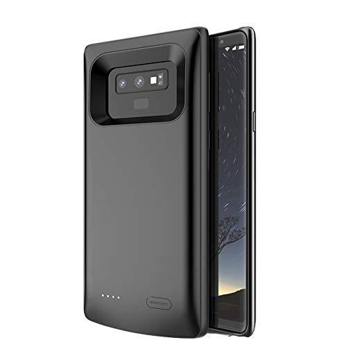 Kerter Funda Batería para Galaxy Note 9 - [5000mAh] Estuche de Carga Batería extendida para Samsung Galaxy Note 9 Batería Recargable Banco de energía Cargador portátil Estuche - Negro