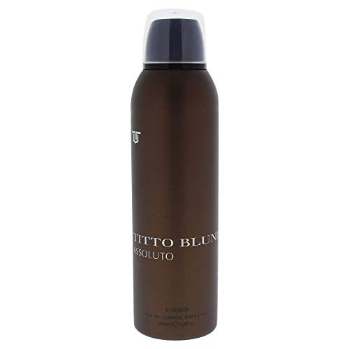 Titto Bluni Assoluto Uomo Eau de Toilette Desodorante Spray 200 ml