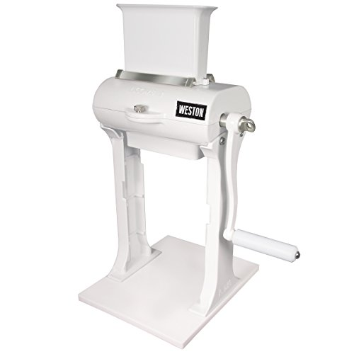 Weston Manual Heavy Duty Meat Cuber Tenderizer , Sturdy Aluminum Construction, Stainless Steel Blades