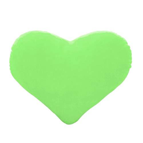 QSMIANA Almohada 15 Cm Forma De Corazón Tirar Decorativos Almohada PP Algodón Suave Creativo Muñeca Amante Regalo