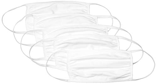 Hanes Reusable Cotton Face Mask -White (Pack of 50) $11.39