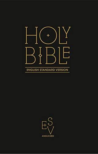 Holy Bible: English Standard Version (ESV) Anglicised Black Gift and Award...