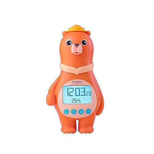 Oregon Scientific-Wecker Bär mit Temperatur Innen (orange)-BC100