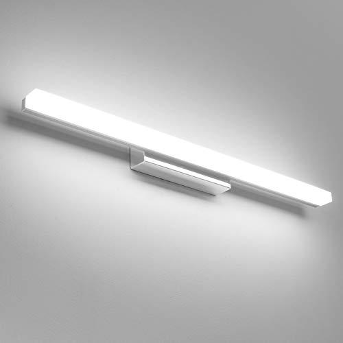 Klighten 14W 60CM LED Spiegelleuchte Badleuchte Badlampe Spiegellampe Kaltweiß badezimmer lampe Wandleuchte 230V 6000K Schrankleuchte