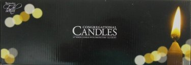 Candlelight Service Kit 125 Pk 4.5 in