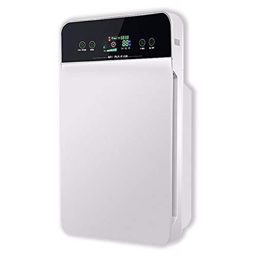 ZIYU Purificador de Aire Filtro de Aire Triple filtración, HEPA, Ion Negativo, Tres Funciones de purificación, detección automática, desodorización, temporización, Control Remoto