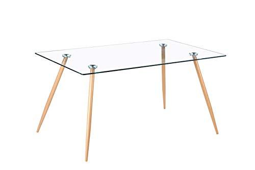 Noorsk Design Mesa de Comedor o Cocina Zola (140_x_80_cm.)