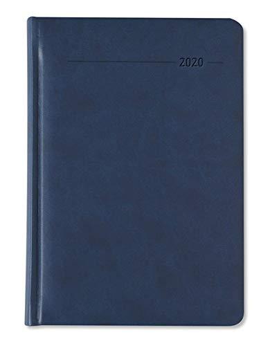 Wochenplaner Tucson blau 2020 - Bürokalender A5 - Cheftimer - 1 Woche 2 Seiten - 128 Seiten - Tucson-Einband - Terminplaner - Notizbuch