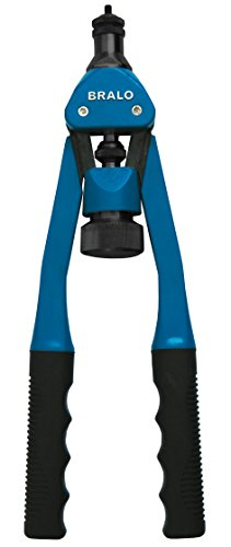 Bralo tr-312 – Riveteuse manuelle pour bricolage, Couleur Bleu