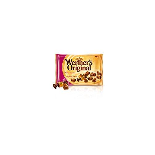 Caramelos werther´s original de toffe recubiertos de chocolate blandos bolsa 1 kg