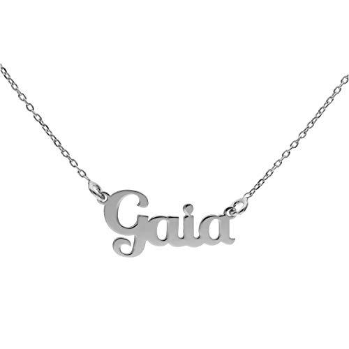 Collana con Nome in Argento (Gaia)