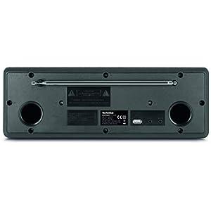 TechniSat DIGITRADIO 371 CD BT - Stereo Digitalradio (DAB+, UKW, CD-Player, Bluetooth, Farbdisplay, USB, AUX, Kopfhöreranschluss, Wecker, 10 Watt, Fernbedienung) schwarz