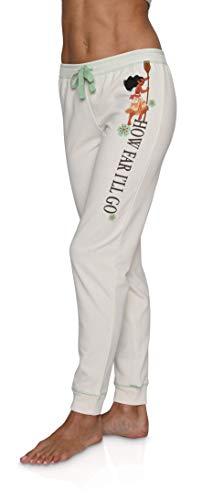 Disney Princess Themed Women's Jogger Lounge Sweat Pants, Moana, Size L