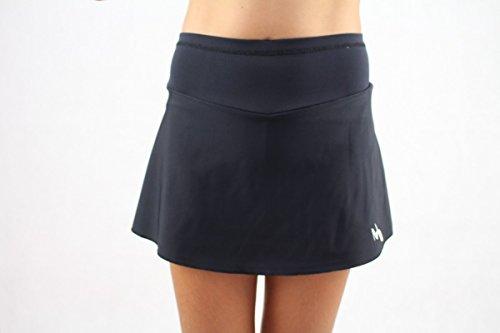 EMZA Tennisröcke Mädchen (Weiß, Größe: 128-134/ Alter: 7-9 Jahre)