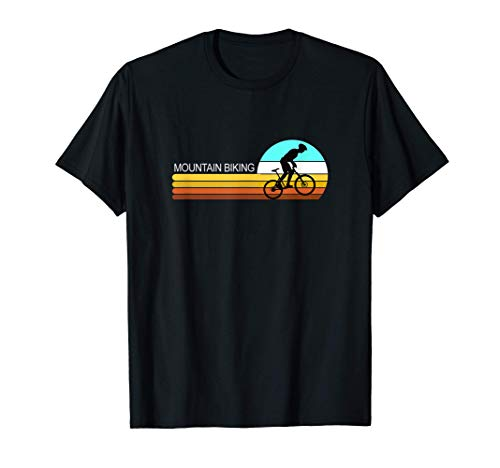 Conception de vélos de montagne de style rétro pour les T-Shirt