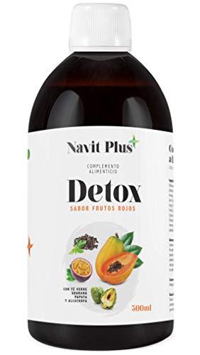 Detox adelgazante | Diurético potente natural líquido 500ml sabor frutos rojos...