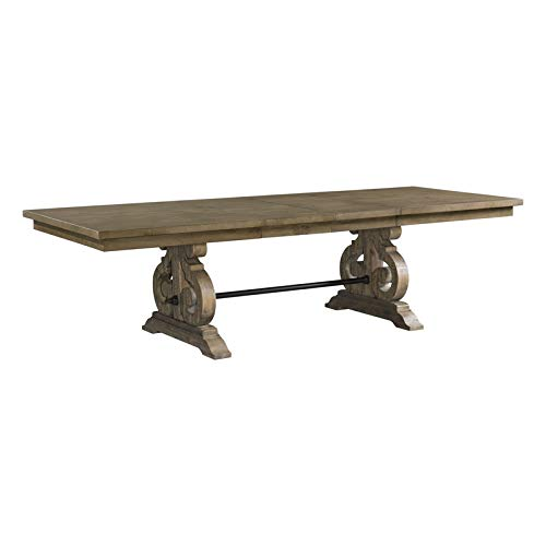 BOWERY HILL Dining Table in Gray