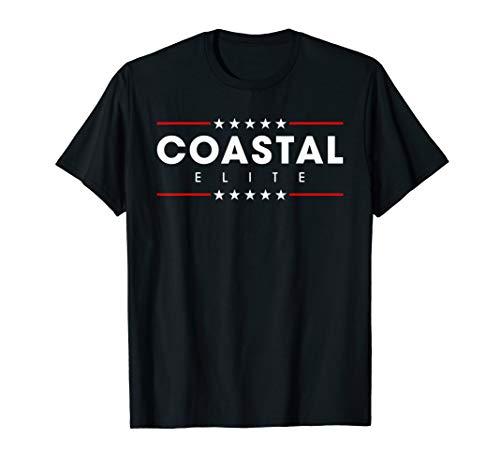 Coastal Elite Dump Donald Trump Resistance Matching Slogan T-Shirt