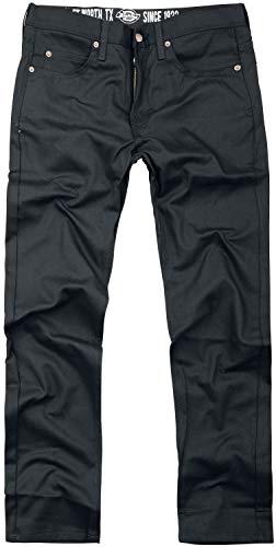Dickies Slim Skinny Pant Pantalones, Negro (Rinsed Black RBK), (Tamaño del Fabricante:30/30) para Hombre