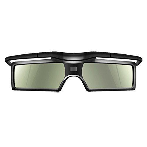 Andoer Occhiali 3D G15-DLP 3D Occhiali Otturatore Attivi 96-144Hz per LG/BENQ/Acer/Sharp DLP Collegamento 3D Proiettore (1 Pezzi)