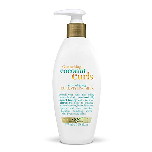 OGX Coconut Milk Curl Defining Cream for Curly Hair, 177 ml