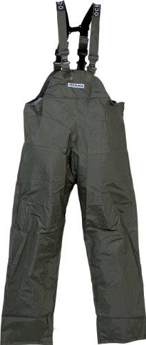 Ocean Rainwear Damen Herren Regenhose Latzhose Modell Budget , Farbe:oliv, Größe:M