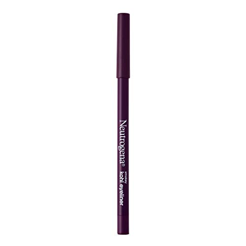 Neutrogena Smokey Kohl Eyeliner with Antioxidant Vitamin E, Water-Resistant & Smooth-Gliding Eyeliner Makeup, Rich Plum, 0.014 oz