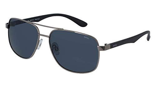 Polarisierte Sonnenbrille INVU T 2407 B braun Gläser grau verblasst 100% UV BLOCK SUNGLASSES POLARIZED