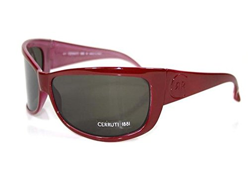 Cerruti 1881 Sonnenbrille Brille Unisex CE552 04 Rot