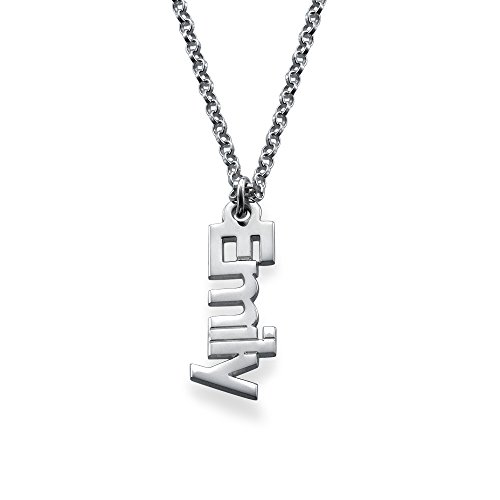 Custom Name Necklace Gift Yandam Sterling Silver Personalized Name Necklace