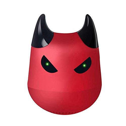 TIANYOU Mini Altavoces Bluetooth Mini Portátil carga rápida/Rojo