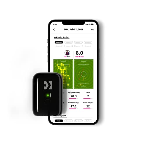 SOCCERBEE POD GPS Wearable Tracker and Vest for Soccer Players Size L