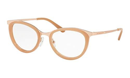 Michael Kors 0MK3021 Monturas de Gafas, Matte Rose Gold, 51 para Mujer