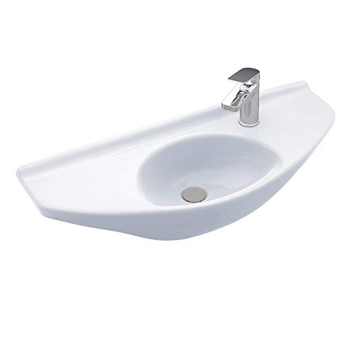 TOTO Lt650G#01 Lt650G Wall Mount Lavatory, Cotton White