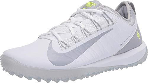 Nike Alpha Huarache 7 Pro TF LAX - White-Volt 11.5