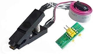 Xsentuals SOIC8 SOP8 Flash Chip IC Test Clips Socket Adapter Programmer BIOS