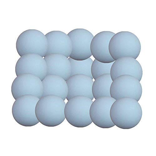 Arcam Bola futbolin Super Dura Blanco Mate 36g 34mm 20 Unidades