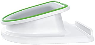 Leitz High-Gloss White Rotating Desk Stand for Mobile Devices (6410-01)