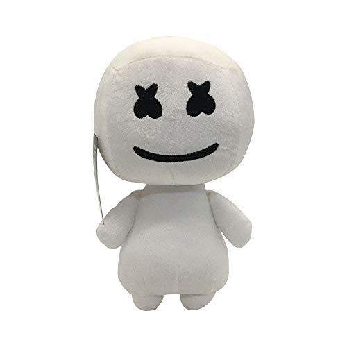 HHtoy 25 Centimetri Cotton Candy Peluche Figure Giocattolo Cuscino Molle del Fumetto farciti Bambola delle Marionette di Compleanno Regalo di Natale for i Bambini 3+ (Color : Nero)