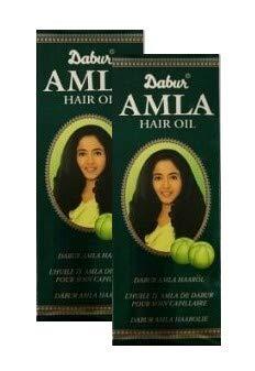 Dabur AMLA Haaröl natürlich Pflege für schönes Haar (2x200ml)