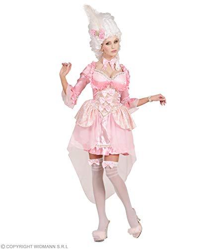 Disfraz de baronesa rosa mujer - M