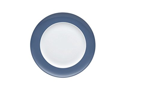 Thomas Rosenthal Sunny Day - Nordic Blue - Frühstücksteller/Kuchenteller/Dessertteller - Porzellan - Ø 22 cm