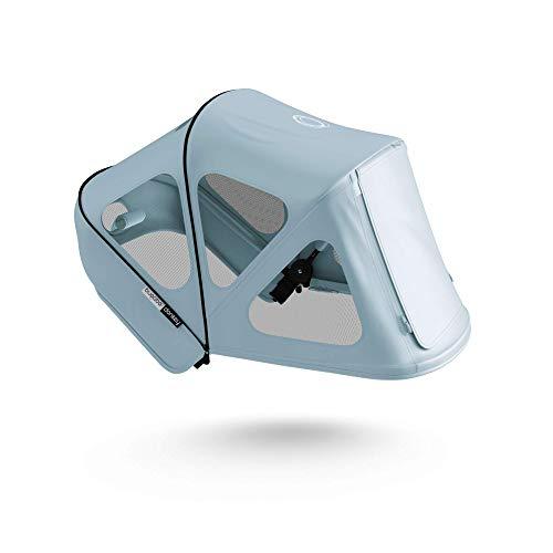 Capota ventilada Bugaboo Donkey - Capota extensible con protección solar UPF y paneles de malla ventilados - azul vapor