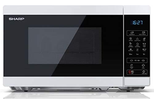 Microondas SHARP YC-MG02EW Color Blanco, 20L, 800W