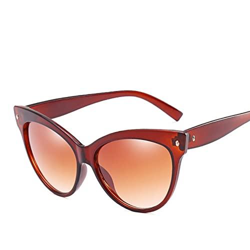 N/A Gafas de sol para Hombre Gafas de sol para Mujer Gafas de sol de ojo de gato para mujer Gafas de sol retro Gafas de sol pequeñas de ojo de gato para mujer Gafas de conductor Gafas