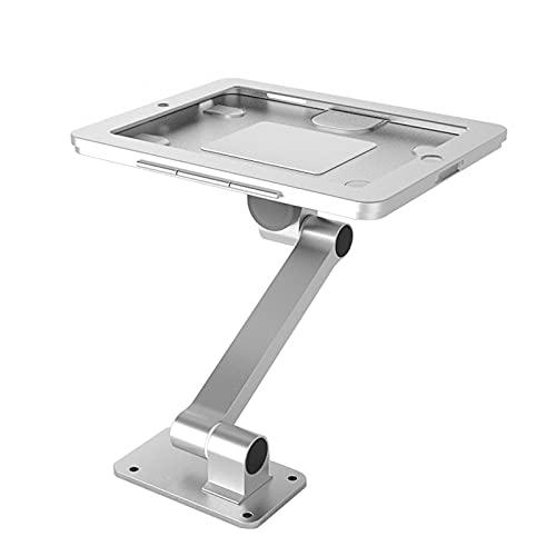 Gliery 360 ° Rotación Soporte De Seguridad para Tableta - Soporte para Tableta Antirrobo De Montaje En Pared con Mecanismo De Cerradura Y Llave para Ipad2 / Ipad3 / Ipad4 / iPad Air