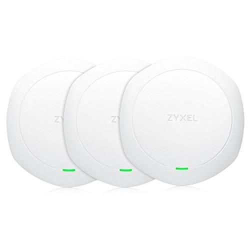 Zyxel Hybrid-Cloud-WLAN-AP AC Wave 2, hohe Dichte, 1,6 Gbit/s, 3er Pack, kein Netzteil (Standalone oder Cloud-managed) [NWA1123-ACHD]